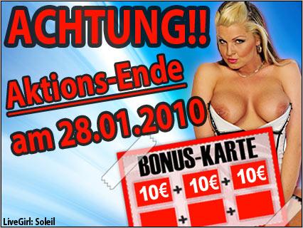 Sexcam Bonus Karte